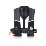 Secumar Ultra 170 Plus Automatik-Rettungsweste 165N mit Lifebelt, grau-schwarz