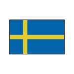 Nationalflagge Schweden - 20 x 30cm