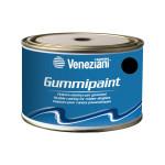 Veneziani Gummipaint Bootslack für Schlauchboote - schwarz 708, 375ml