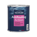 Yachtcare Action Antifouling - marineblau, 750ml