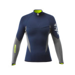 Zhik Superwarm V Top Neopren-Shirt langarm Damen marineblau-grau