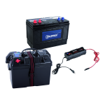 Zubehörset für Talamex Elektro-Außenbordmotor TM48/TM58/TM66