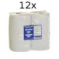 12er Set Yachticon Boot & Caravan Soft Toilettenpapier, 48 Rollen