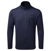 Gill Knit Fleece-Pullover Herren marineblau