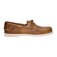 Sebago Docksides Bootsschuh Damen Brown-Tan