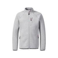 Musto Evolution Zip-Pullover Herren grau meliert