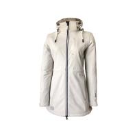 Dry Fashion Binz Softshell-Mantel Damen cremeweiß