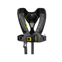 Spinlock Deckvest 6D 170N Automatik-Rettungsweste mit Harness, schwarz