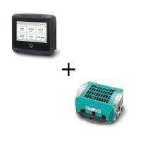 Mastervolt Set: MasterShunt 500 Batterieüberwachungsgerät + EasyView 5 Systemmonitor
