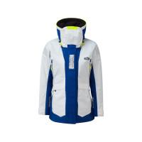 Gill OS2 Segeljacke Offshore Damen weiß-blau