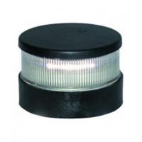 Aqua Signal Serie 34 Signallaterne Rot LED BSH - Gehäusefarbe schwarz