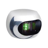 Aqua Signal Serie 34 Edelstahl-Abdeckung für Steuerbordlaterne