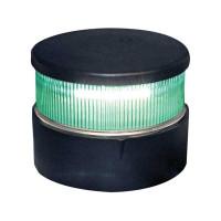 Aqua Signal Serie 34 Signallaterne Grün LED BSH - Gehäusefarbe schwarz