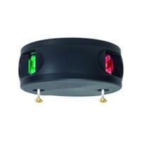 Aqua Signal Serie 34 Zweifarbenlaterne LED BSH - Gehäusefarbe schwarz