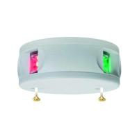 Aqua Signal Serie 34 Zweifarbenlaterne LED BSH - Gehäusefarbe weiß