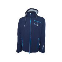 SALE: Dry Fashion Amrum Softshell-Jacke Herren marineblau