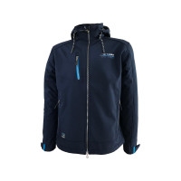 SALE: Dry Fashion Fehmarn Softshell-Jacke Herren marineblau