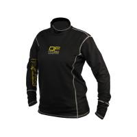 Dry Fashion Fleece Aqua-Top Longsleeve Unisex schwarz