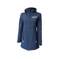 Dry Fashion Sylt Softshell-Mantel Damen marineblau