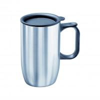 Edelstahl-Isolierbecher mit Deckel - Inhalt 0,4 Liter
