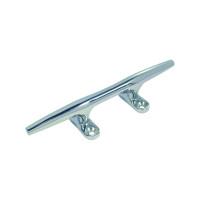Edelstahl-Klampe rund - Länge 150mm, Lochabstand 40mm