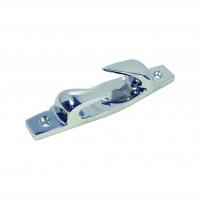 Edelstahl-Lippklampe linksgeöffnet - Länge 115mm, Tau-Durchmesser 10mm