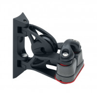Harken 40mm Carbo Block - kippender Umlenk-Block mit 150 Klemme