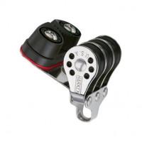 Harken Micro Block 22mm - dreischeibig mit Klemme