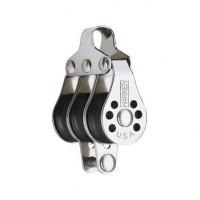 Harken Micro Block 22mm - dreischeibig mit Hundsfott