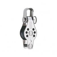 Harken Micro Block 22mm - einscheibig mit Schäkel und Hundsfott