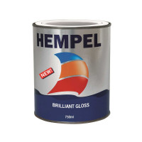 RESTBESTAND: Hempel Brilliant Gloss Decklack - rein weiß, 750ml