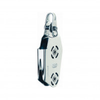 HS Sprenger Micro XS Block 6mm - Violinblock, einscheibig mit V-Klemme
