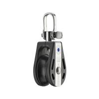 HS Sprenger S-Blockserie 8mm Block mit Nadellager - einscheibig mit Wirbelschäkel