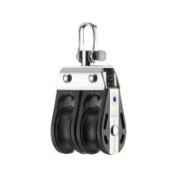 HS Sprenger S-Blockserie 8mm Block mit Nadellager - zweischeibig mit Wirbelschäkel