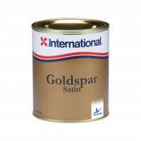 International Goldspar Satin Klarlack - 750ml