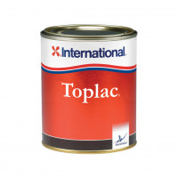 International Toplac Bootslack - rot 011, 750ml