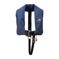 12skipper Kinder-Automatikweste 150N ISO mit Harness, marineblau