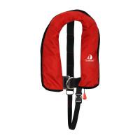 12skipper Kinder-Automatikweste 150N ISO mit Harness, rot