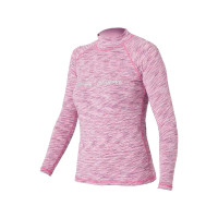 SALE: Magic Marine Cube Rash Vest Longsleeve Damen rosa