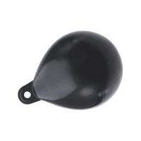 Majoni Kugelfender - Farbe schwarz, Durchmesser 35cm