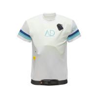 Marinepool Aquardian Pro Shirt Shortsleeve mit Auftriebshilfe 50N mit manueller Auslösung, weiß