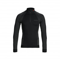 Musto Active Base-Layer Zip-Longsleeve Herren schwarz
