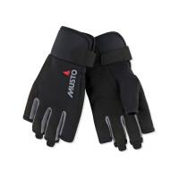 Musto Essential Segelhandschuhe Kurzfinger schwarz