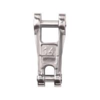 Edelstahl-Anker-Kettenverbinder mit Wirbel - Kette 8mm