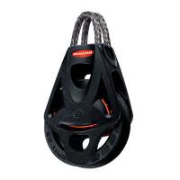 Ronstan Orbit Block Serie 55 BB - einscheibig mit Looptop und Hundsfott