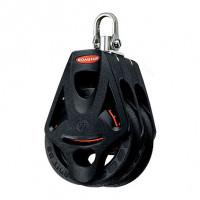 Ronstan Orbit Block Serie 55 BB - zweischeibig mit Wirbelschäkel und Hundsfott