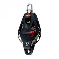 Ronstan Orbit Block Serie 55 RT - einscheibig mit Wirbelschäkel und Hundsfott, auto & manuell