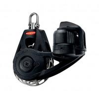 Ronstan Orbit Block Serie 55 RT - einscheibig mit Wirbelschäkel und Klemme, auto & manuell