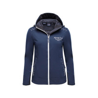 Marinepool RR Seaford Softshell-Jacke Damen marineblau