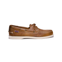 Sebago Docksides Bootsschuh Herren Brown-Tan